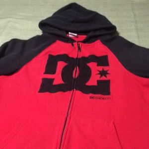 DC SHOECO BEAUTIFUL HOODIE EXCELLENT CONDITION